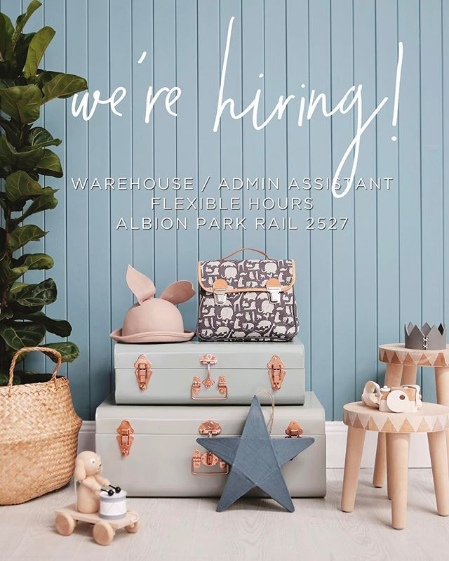 💗✨ WE'RE HIRING ✨💗 We are on the hunt for the newest TLL family member! We are in serious need of an awesome all-rounder who can assist with general admin and warehouse duties while our Krissy is on Maternity Leave (😍/😭) The job will likely best suit someone looking for work WITHIN SCHOOL HOURS (hallelujah!!) - Please see the Careers tab at the bottom left of our website for details and how to apply ✨ Applications close Jan 20th, we are looking for an ASAP start so don't dilly dally! Our…