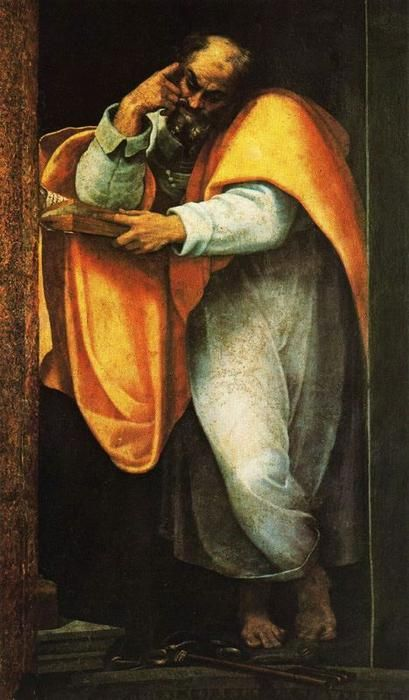 Saint Pierre, par Sebastiano del Piombo