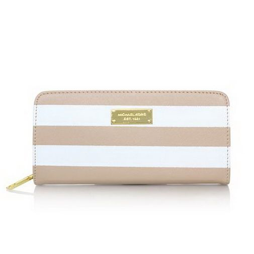 cheap Michael Kors Jet Set Striped Travel Large Apricot White Wallets sale online, save up to 90% off hunting for limited offer, no tax and free shipping.#handbags #design #totebag #fashionbag #shoppingbag #womenbag #womensfashion #luxurydesign #luxurybag #michaelkors #handbagsale #michaelkorshandbags #totebag #shoppingbag