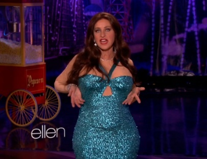 Ellen Degeneres al mejor estilo de Sofia Vergara (VIDEO)