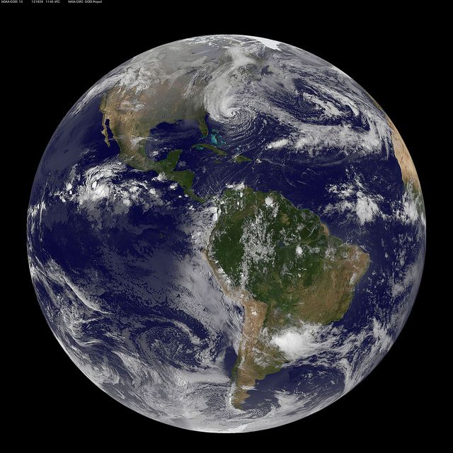 NASA Satellites See Sandy Expand as Storm Intensifies by NASA Goddard