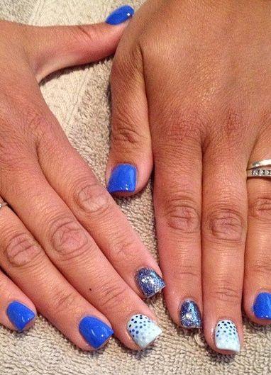 Nail Art: Geometric styles