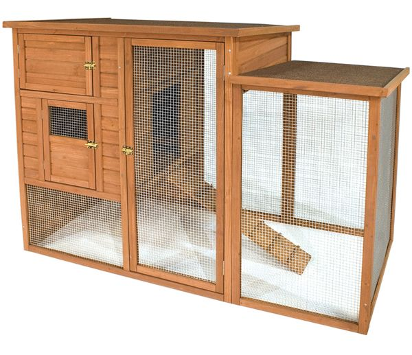 Rabbit cage designs free woodworking projects plans for Free range chicken coop plans