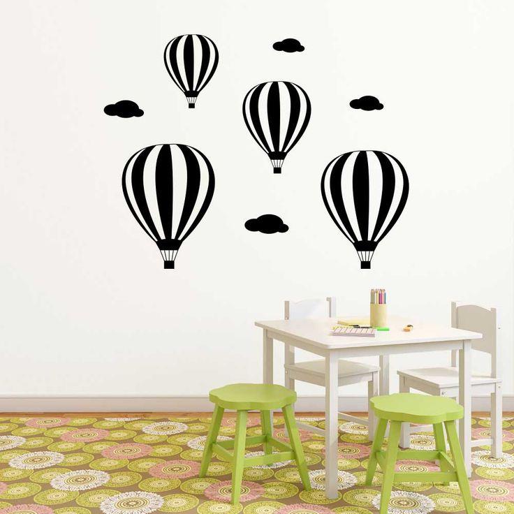 Köp Varmluftsballonger väggdekor - från endast 439 ★ Marknadens bästa kvalitet ★ Egen produktion ★ 30 dagars returrätt ★ Snabbleverans ★