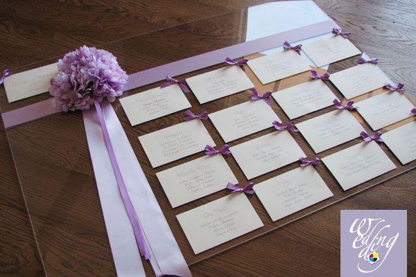 plexiglass tableau; plexiglass sit wedding plan