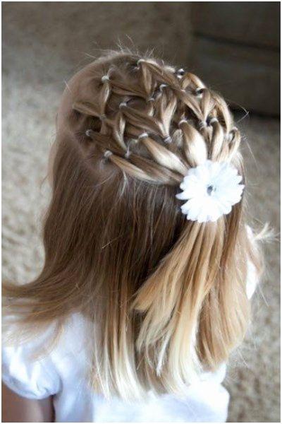 23 Coiffure Jeune Fille Cheveux Mi Long Mode Coiffure Petite Fille Mariage Coiffure Mariage Enfant Coiffure Petite Fille