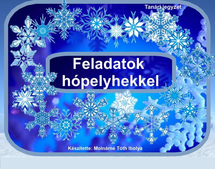 Fotó itt: Karácsonyi hópelyhek, kérdés- felelet, szerkeszthető interaktív tananyaghoz - Google Fotók