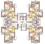 Resultado de imagen para high rise residential floor plan