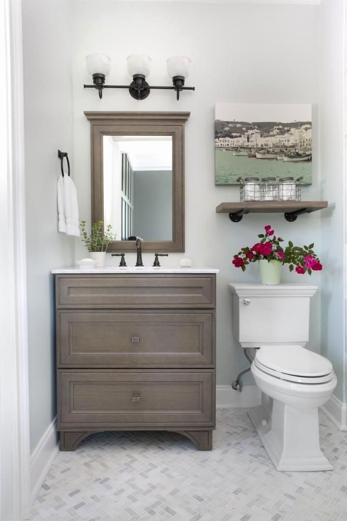 24 Guest Bathroom Decor Ideas in 2020 | Bathroom ...