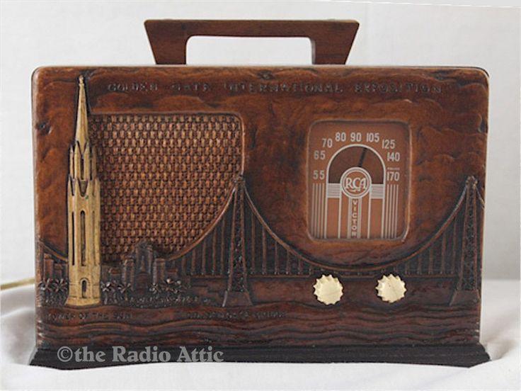 """RCA 40X57 """"San Francisco Exhibition"""" (1939)"""