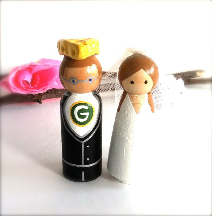 Cheesehead Cake Topper