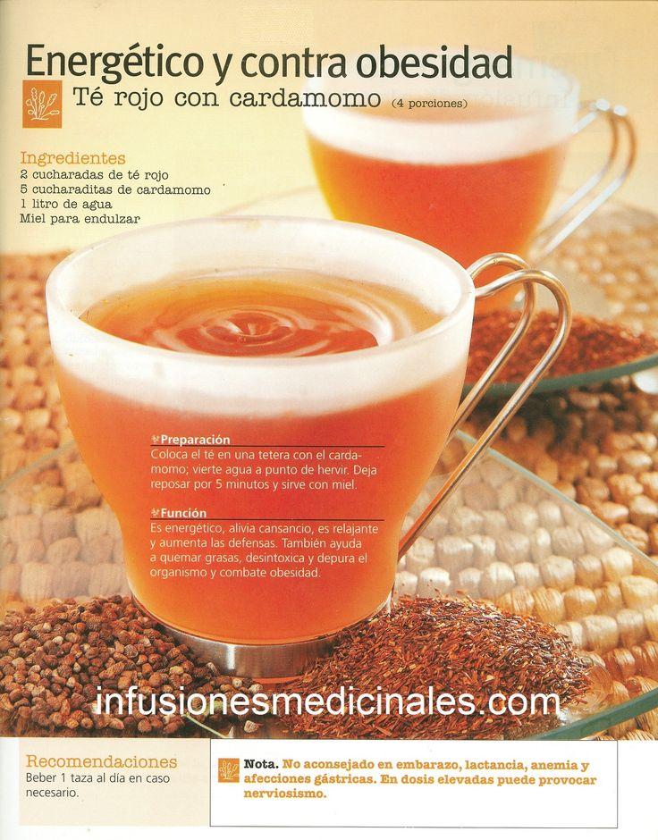 Conoce recetas de infusiones, tes y otros remedios naturales para perder peso.