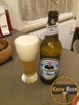 Birra tedesca di frummento facile da bere di colore biondo e con un aroma leggermente fruttato (di banana)