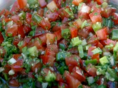 Get this all-star, easy-to-follow Chilean Salsa for BBQ: Pebre recipe from BBQ with Bobby Flay