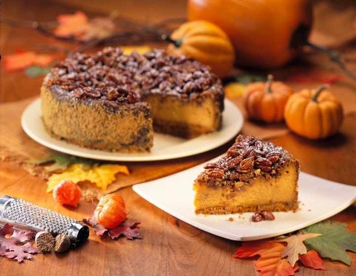 Pumpkin Praline Cheesecake | Food | Pinterest