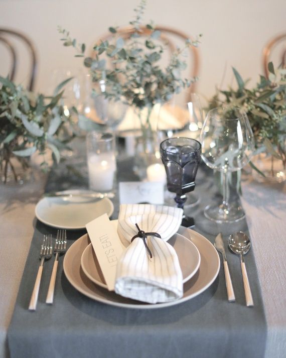 The Décor - Alison and Markus's Intimate Rainy-Day California Wedding