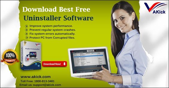"""Download best free AKick software removal tool to make your computer quick fast and clean. Completely remove unwanted applications and speed up PC. You can uninstall..."""""""