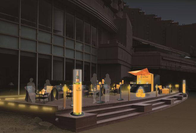 VOGUE lifestyle | news | ホテル日航東京に、期間限定で星空シャンパーニュバーがオープン!