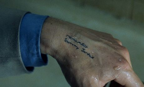 memento a movie written and directed by christopher nolan Christopher nolan memento video just in case you need a refresher, memento is christopher nolan's 2001 mystery film  these notes he's written himself .