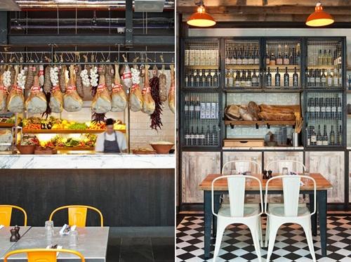 hanging hams / blacksheep: Ideas, Interior, Kitchen, Restaurant, Design, Jamie Oliver