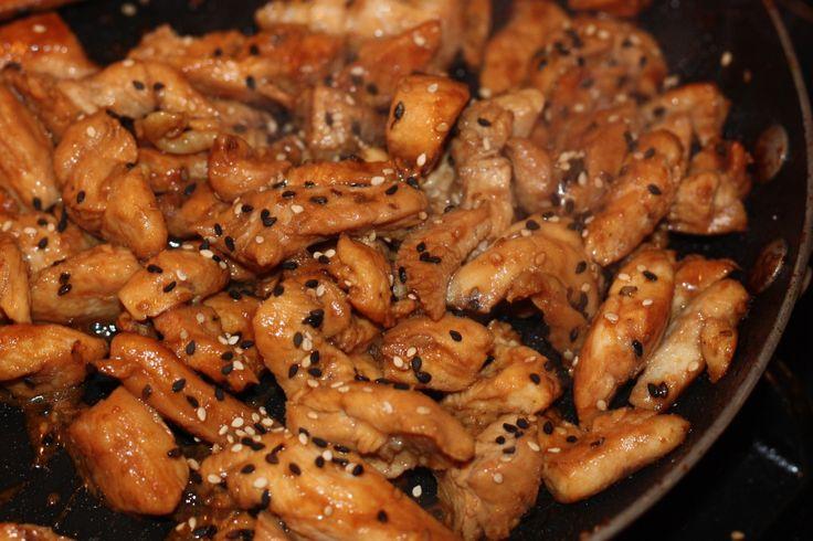 fodmap friendly Asian Sesame Chicken Stir-Fry