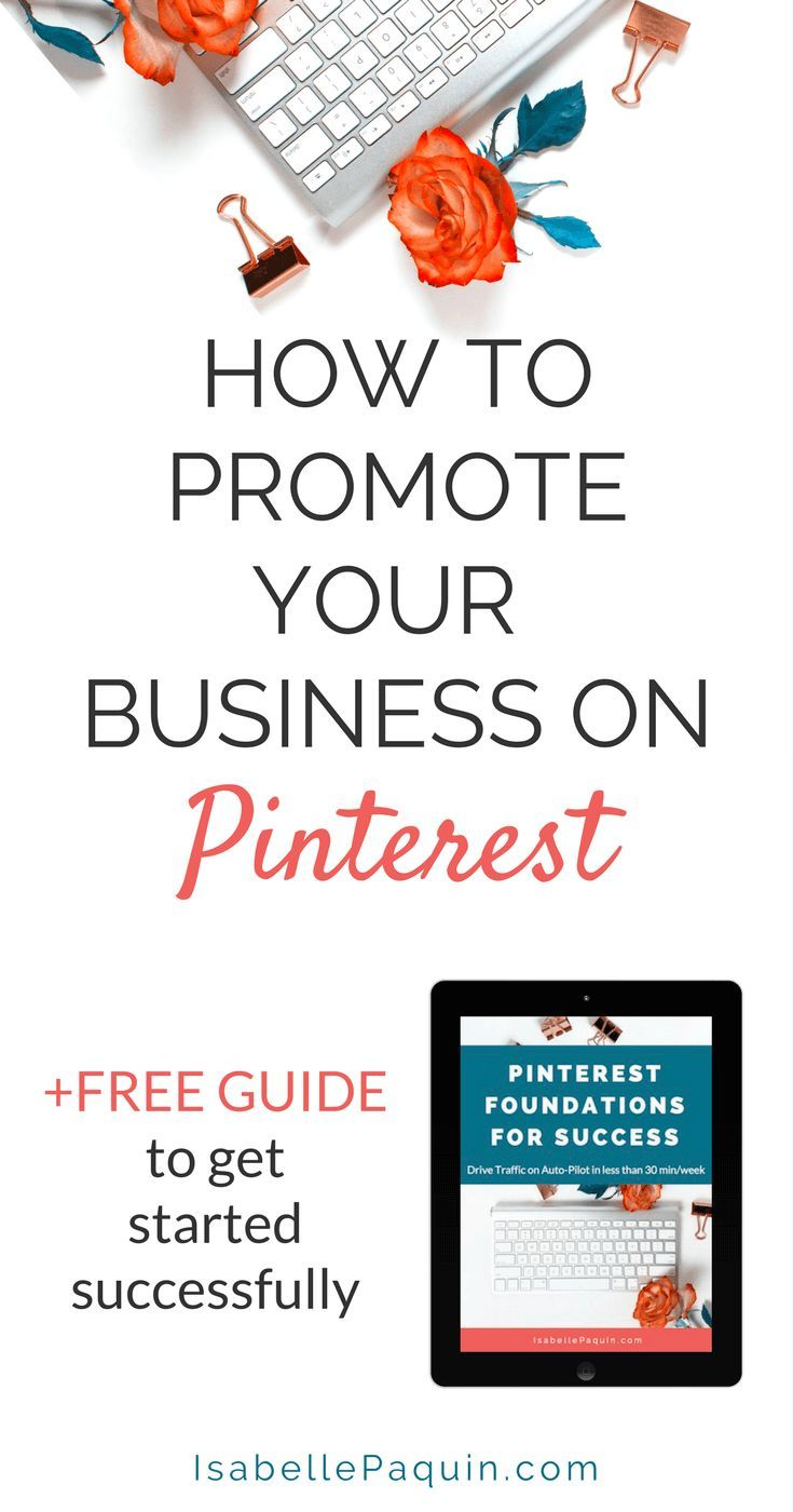Pinterest Marketing Strategies for Small Businesses. Click to learn how to use Pinterest for marketing your business. Includes a free guide for getting started and establish Pinterest Foundations for Success.