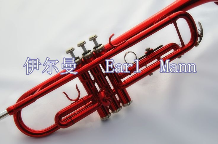(210.00$)  Watch now - http://aik8q.worlditems.win/all/product.php?id=32315513767 - Senior Trumpet instrument Bb trumpet red brass material Trumpet box Free Shipping