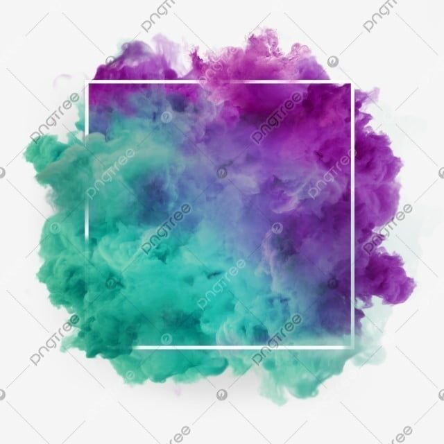 Green Purple Wonderful Smoke Abstract Frame Art Rectangle Violet Meteorological Phenomenon Png Transparent Clipart Image And Psd File For Free Download In 2021 Watercolour Texture Background Smoke Painting Colored Smoke