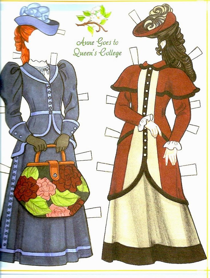The Paper Collector: Anne of Green Gables Paper Doll by Eileen Rudisill Miller