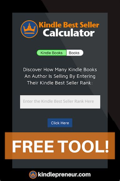 Amazon Sales Rank Calculator | Amazon Best Sellers Rank | Kindle Calculator | Amazon Sales Rank List | Kindle Sales Calculator | Novel Rank | Amazon Book Rankings | KDP Calculator | Amazon Book Sales Rank | Free Software | Book Marketing | Self-Publishing | Indie Authors | Sell eBooks