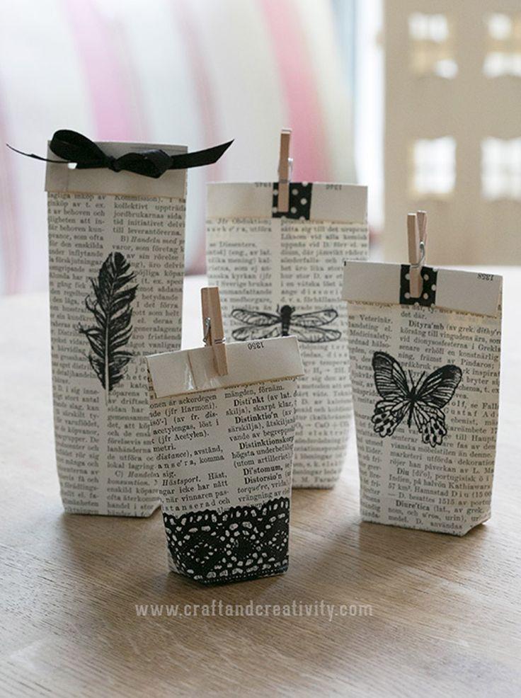 Hoy en el blog, un tutorial para hacer las bolsitas para los regalos de los invitados. Quién se anima? http://www.unabodaoriginal.es/blog/estas-invitad/regalos-para-invitados/diy-bolsitas-invitados