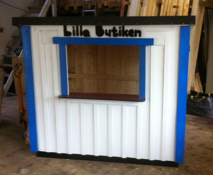 Lekstuga Lilla Butiken 4000 kr http://lekfab.se/Lilla.html