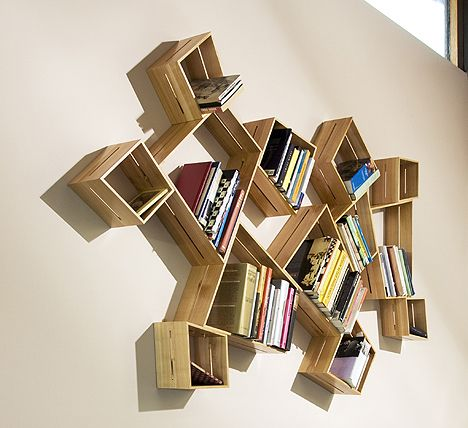 102 best images about creative bookshelves on