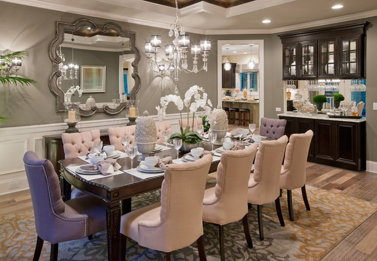 Dining Room Interior Design Inspiration 109 Best Dining Rooms Images On Pinterest  Toll Brothers Dining Review