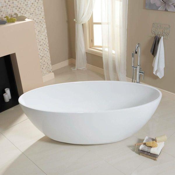 Die besten 25+ Badezimmer mit weißen Fliesen Ideen auf Pinterest - wc fliesen beige