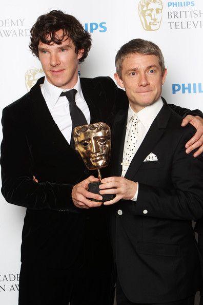 Martin Freeman Photo - Philips British Academy Television Awards - Winners Boards
