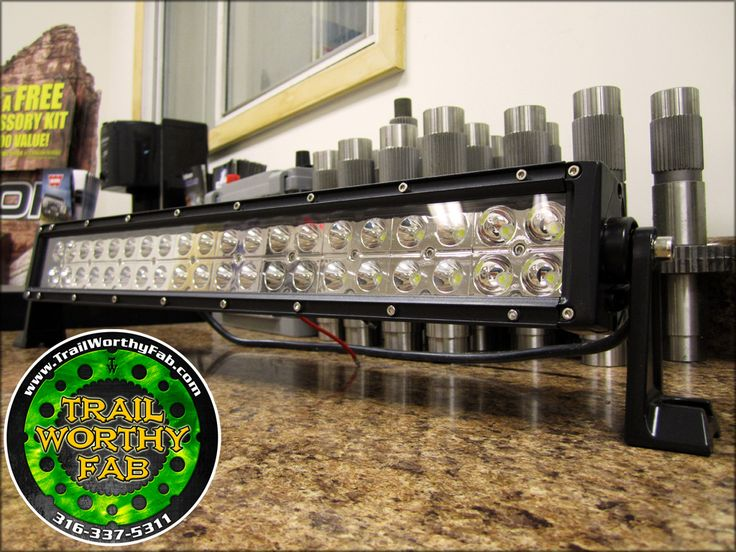 "Trail Worthy Fab 20"" LED Light Bar"