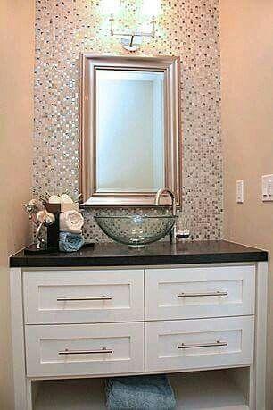 I like the vanity minus the sink.