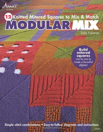 17 Best images about Mitred Squares on Pinterest Ravelry, Knitting patterns...