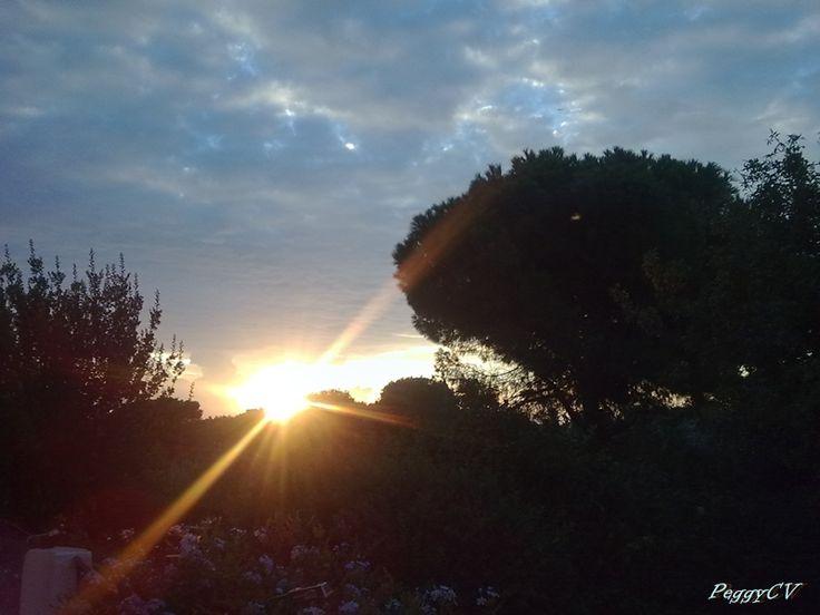 Sunrise, somewhere in Athens.