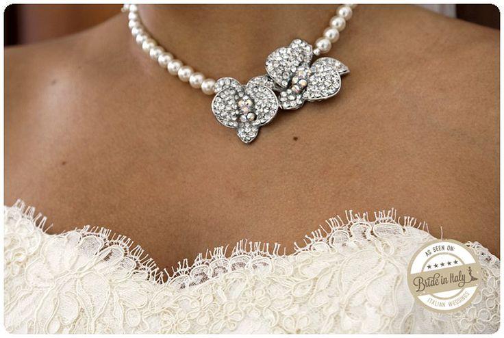 Bridal Jewelry #italianstyle ph: Belle Momenti Photography http://www.brideinitaly.com/2013/08/bellemomenti-positano.html