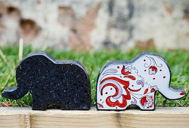 Magda Masano. La pietra lavica diventa arte.