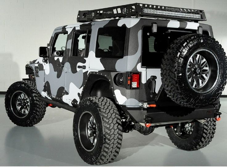A Jeep Wrangler like you have never seen before! Hit the image for more pics... #spon