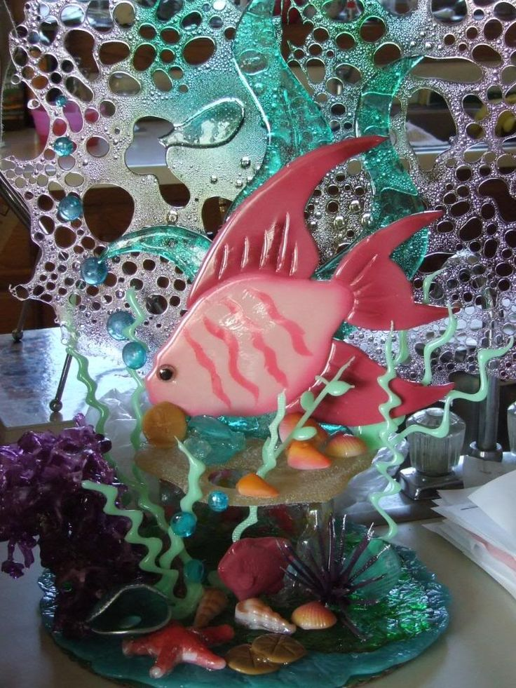 Pulled Sugar Fish Sculpture | Sugar Showpiece Photos | Sugar Art How-To | Sugar Crafts & Sculpture ...