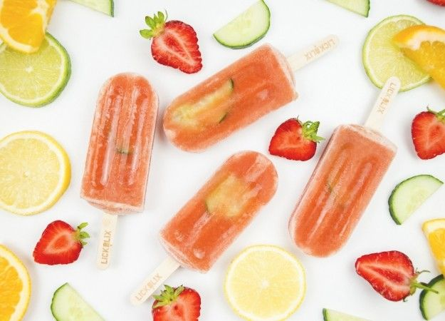 These boozy ice lollies are the stuff dreams are made of | Alcoholic ice lolly recipes | food | entertaining | redonline.co.uk - Red Online