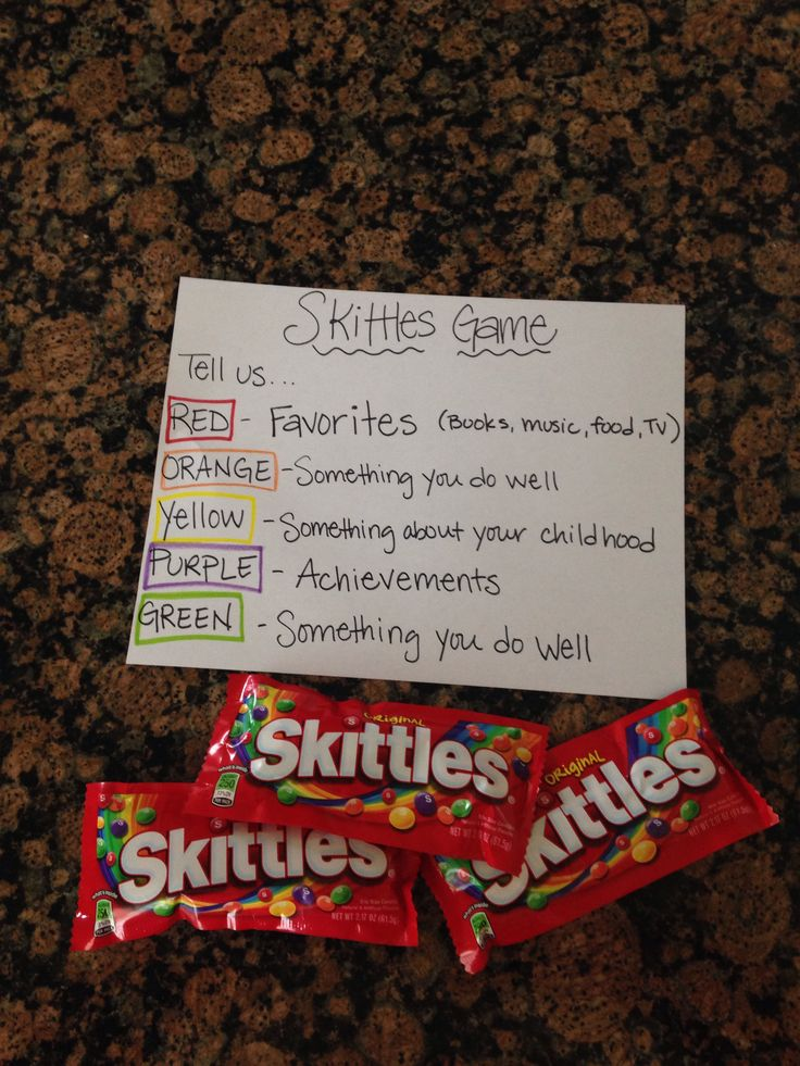Skittle Game idea