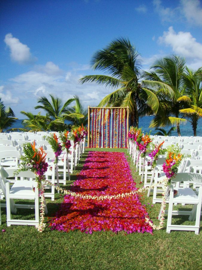Cliff View Location St Lucia Wedding Www