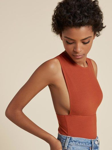 The Mazy Bodysuit  https://www.thereformation.com/products/mazy-bodysuit-sun-baked?utm_source=pinterest&utm_medium=organic&utm_campaign=PinterestOwnedPins