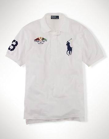 Design Ralph Laruen UK Big Pony Flag polo White For Sale