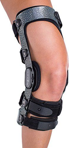DonJoy Armor Knee Support Brace with Standard Hinge Short Calf Length ACL Anterior Cruciate Ligament Right Leg Medium >>> Continue to the product at the image link.